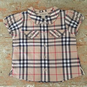Other - Burberry Button Down Top
